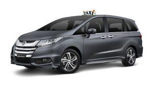 Honda Oddessey Silver Service